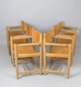 Børge Mogensen, set of chairs model Hunting Chair 3238 for Fredericia Furniture (6)