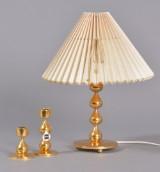Dråbestager og bordlampe, Asmussen, 1900-tallets 2. halvdel (3)