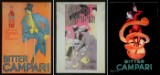 Ubekendte kunstnere, plakater, offsettryk, 'Bitter Campari'. (3)