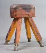 Gymnastikredskab vintage buk