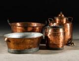 Samling koppar, 1800-tal (4)