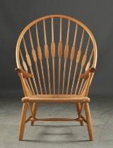 Hans Wegner, lounge chair, Peacock Chair
