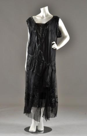 5a51f745413 Slutpris för Vintage Charleston-klänning, 1920-tal