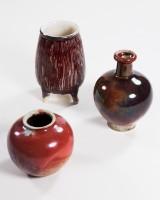 Konvolut WMF Vasen, Gerda Conitz und Karl Illenberger, Keramik (3)