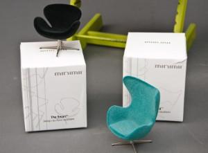 Vare: 2460044 Miniature, Dansk Design Møbler