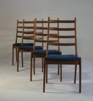 m bel kai kristiansen 4 st hle f r korup stolefabrik 4 de hamburg gro e. Black Bedroom Furniture Sets. Home Design Ideas