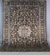 Persisk Kashan, Stort signeret tæppe, 420 x 290 cm