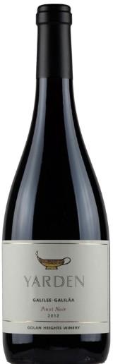 12 fl. Yarden Pinot Noir 2012