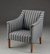 Kaare Klint. Lounge chair, model 6202, Cuban mahogany