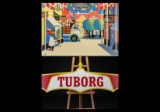 Tuborg skilt samt ældre Carlberg plakat (2)