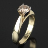 Solitaire ring ca. 0.80 ct.