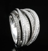 18kt diamond ring approx. 1.23ct