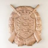 Våbenskjold af bronze