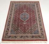 Indisk tæppe, 239x169 cm.