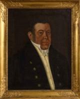 Okänd konstnär, olja på duk, mansporträtt, 1800-tal