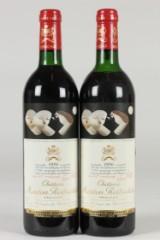 1986 Baron Philippe de Rothschild Chateau Mouton Rothschild, Pauillac, France, appellation Pauillac Controlée (2)