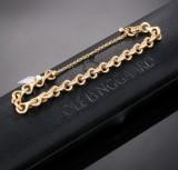 Ole Lynggaard. 'Love' bracelet, 18 kt. satin-finish red gold