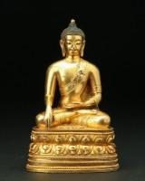 Buddha sakyamuni, Mongolia, 20th century