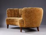 Bananformet sofa, 1940-erne