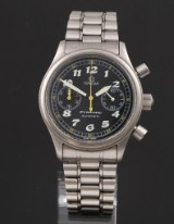 Omega 'Dynamic' men's watch, chronograph, steel, automatic movement