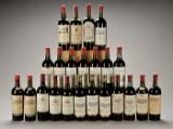 23 fl. Ældre Bordeaux rødvin.
