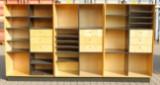 Tre reolmoduler, ahorn. Dansk møbelproducent (3)
