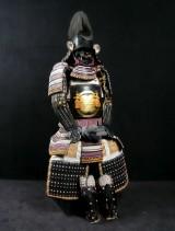 Samurai armour: Gendai Kuro Gusoku Asano Nagamasa Yoroi, Japan, early Showa period