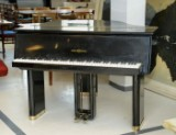 Grand piano, Tulex, designed by MAA Torben Christensen, produced by Andreas Christensen