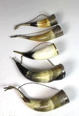 Konvolut keltische Trinkhörner (5)