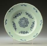 Kinesisk fad af porcelæn 1700/ 1800-tallet