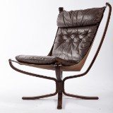 Sigurd Ressel, Vathne Möbler, Sessel / Lounge Chair, Modell 'Falcon Chair', Norwegen, 1970er Jahre