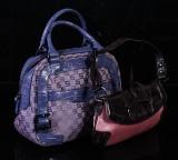 Sisley samt PIC2, väskor, läder samt textil (2)