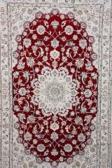 Persisk Nain m/ Silke, 240 x 143 cm