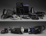 Hensel. 2x Compact flash Mono MAx 1500 samt Starspot kit m. generator