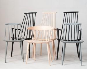 m bel j rgen b kmark poul m volther 1 x stuhl modell j104 3 x armlehnstuhl. Black Bedroom Furniture Sets. Home Design Ideas