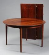 Arne Vodder. Dining table, rosewood