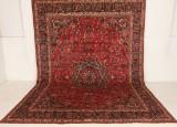 Persisk handknuten matta Mashad, mått 403x285