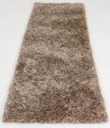 Moderne tæppe m. silke, 230x180 cm.