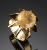 MOLTKE Jewelry. Ring af guld  ca 1970érne