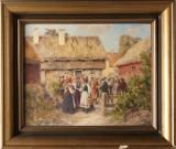 Emil Åberg oljemålning