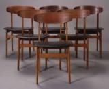 Dansk møbelproducent. Spisestole, 1960'erne (6)