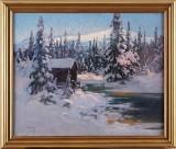 Carl Brandt oljemålning