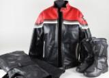 Motorcykeldräkt samt boots (3)