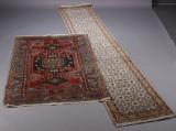Persisk tæppe samt indisk løber (2)
