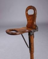 Foldestol / jagtstol, 1800-tallets slutning