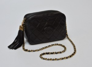 387c8d840068d2 Chanel bag, black quilted leather This lot has been put up for ...