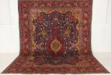 Handknuten äkta matta, Kashmar, 378x292 cm