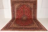 Kashan. Persisk håndknyttet tæppe, 450x300 cm.