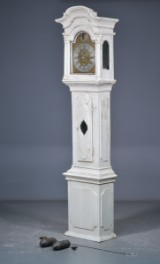 Claus Smed, Marstal. Baroque long case clock, 18th century
