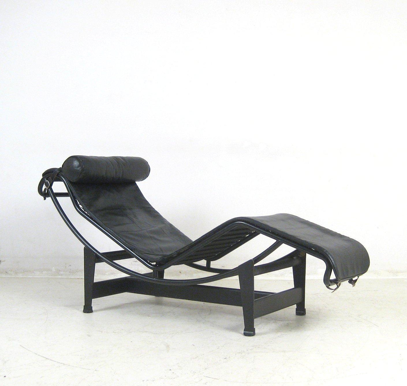 le corbusier liege chaiselongue modell lc4 von cassina - Liege Chaiselongue